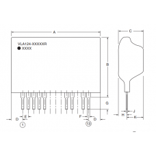 POWEREX DC-DC Converters VLA124-1500GTR